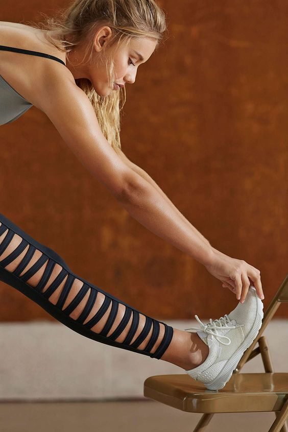 workout leggings with serious ventilation...via urban outfitters
