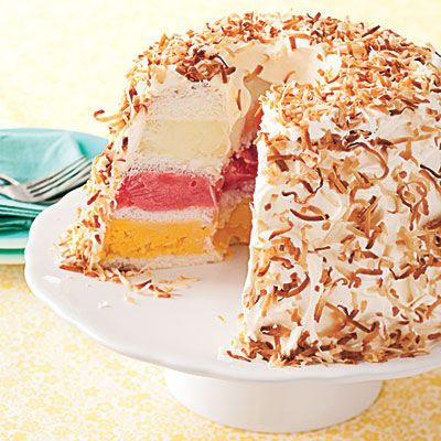 Tropical Sherbert Cake