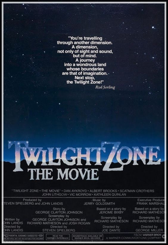 Twilight Zone: The Movie (1983). Classic creepy movies you'll never forget.