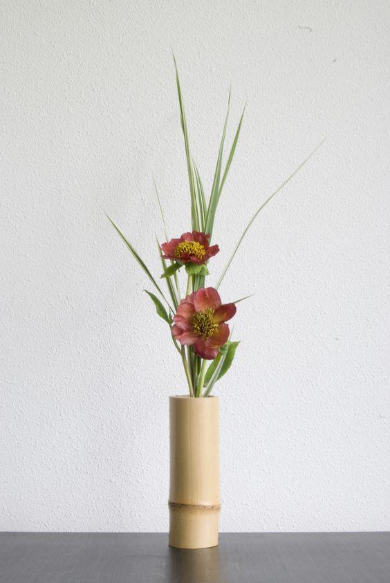 Ikebana with grass and Peony | por Otomodachi