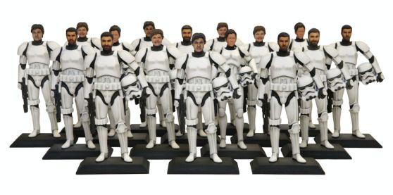 #Starwars #3Dprinted #stormtroopers