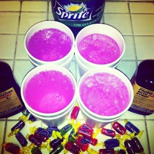 Pink Codeine Pills