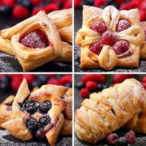 Puff Pastry Four Ways FULL RECIPE::