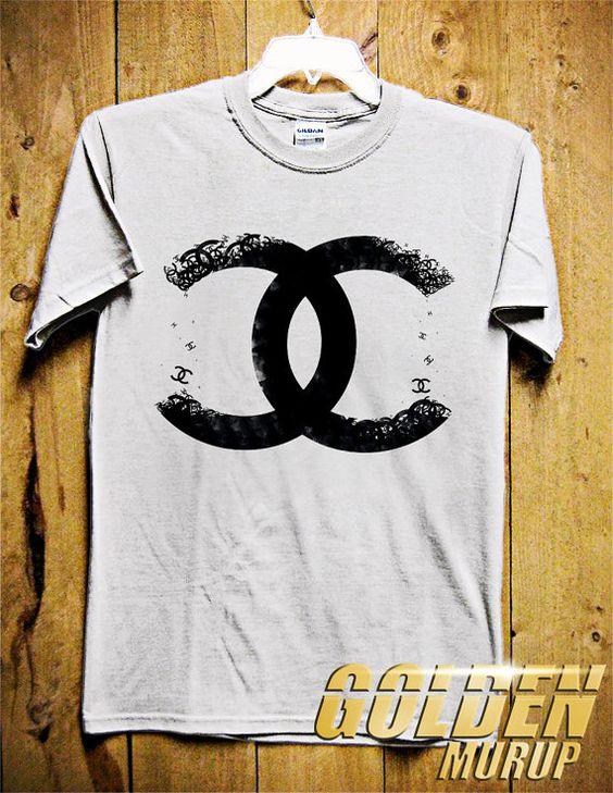 Chanel Logo Men Tshirt Brand Fashion Tshirt By Goldenmurup