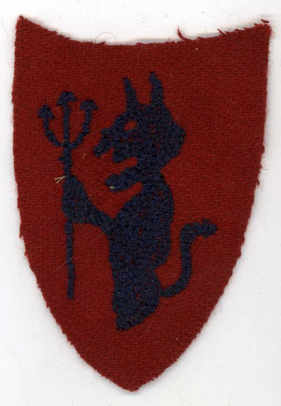 US WWI Army 93rd Infantry Division Shoulder Patch