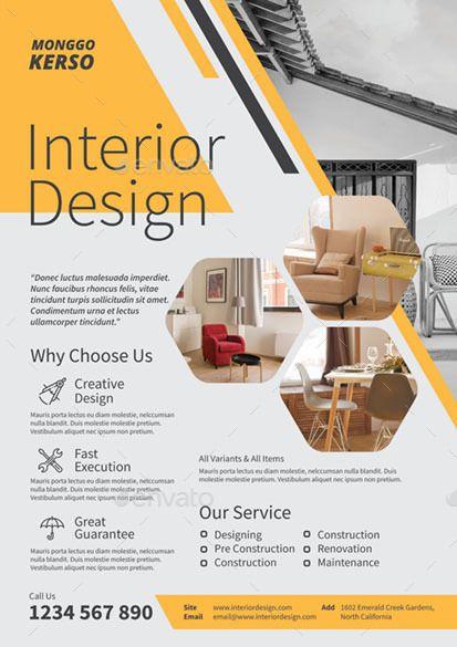 Interior Design Brosure Design Interior Design Presentation