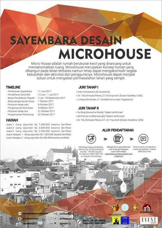httpwwwlingkarwarnacom201706sayembara desain microhouse