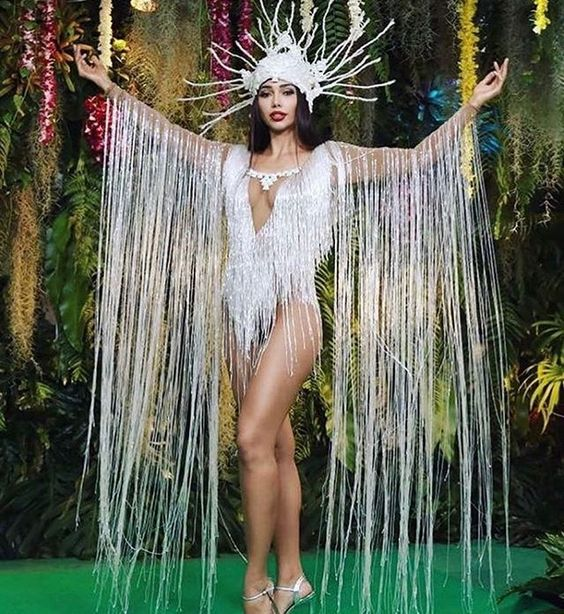 Miss Bolivia  Miss Universe 2018 - Pageant Planet National Costume