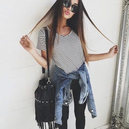 These fall outfits will buy you some time while you are working through closet…