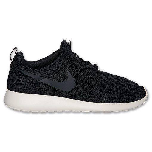 Nike K Men's Roshe One Lightweight Casual Running Shoes Black, White Sz 8 NWB #Nike #AthleticSneakers