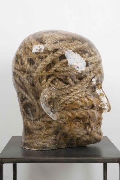 RESIN HEADS - Sculptures - Richard Dupont