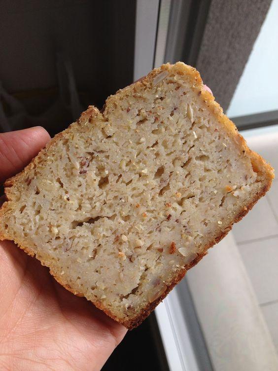 La chica de las recetas: Pan de maíz sin gluten con masa madre de arroz