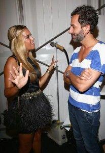 Auf Tuchfühlung mit Stardesigner Dimitri - AJOURE.de Modedesigner Dimitrios Panagiotopoulos mit Sylvie van der Vaart