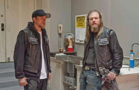 Jax & Opie from Sons of Anarchy