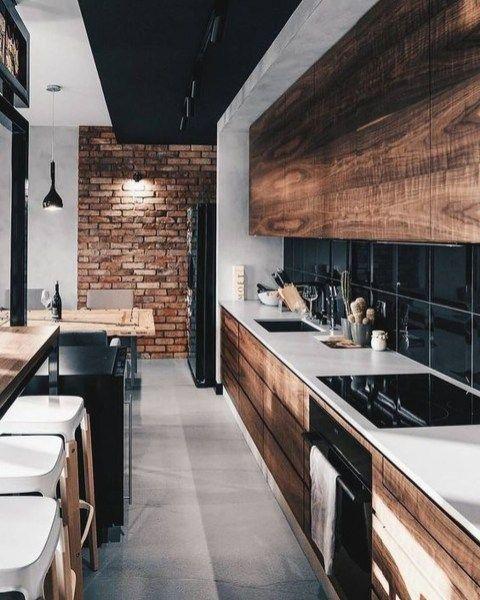 32 Best Black And White Wood Kitchen Design Ideas Kitchen Design