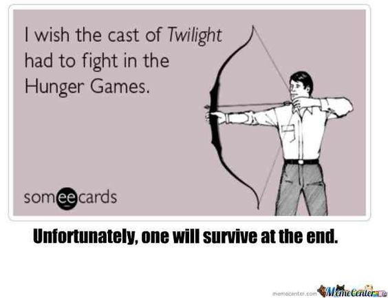 humor, funny, Twilight, Hunger Games