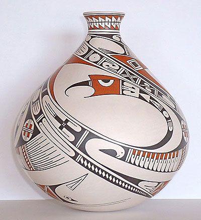 Mexico. Mata Ortiz pottery
