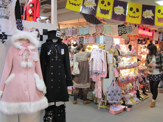 Sweet Elegant Gothic Lolita Stores Fashion Shopping In Laforet Harajuku Coolest Best Clothing
