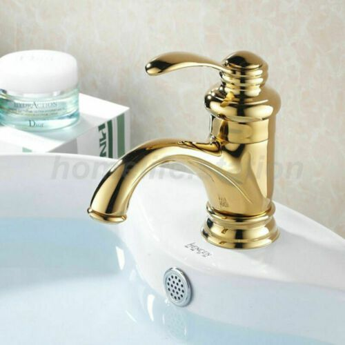 Neu Retro Einhebel Bad Badezimmer Armatur Waschbecken Waschtisch Gold Wasserhahn Ebay Mit Bildern Waschbecken Wasserhahn Waschbecken Armaturen