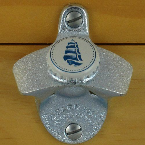 """New /""""PALE ALE/"""" Wall Mounted Bottle Opener with Screws Zinc Plated Cast Iron Bar"""