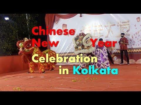 Chinese New Year Celebration In Kolkata New Year Celebration India Travel Places Chinese New Year