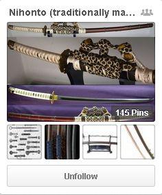 Nihonto (traditionally made Japanese swords). Tachi, katana, wakizashi, tanto.  https://www.pinterest.com/worldantiques/nihonto-traditionally-made-japanese-swords/
