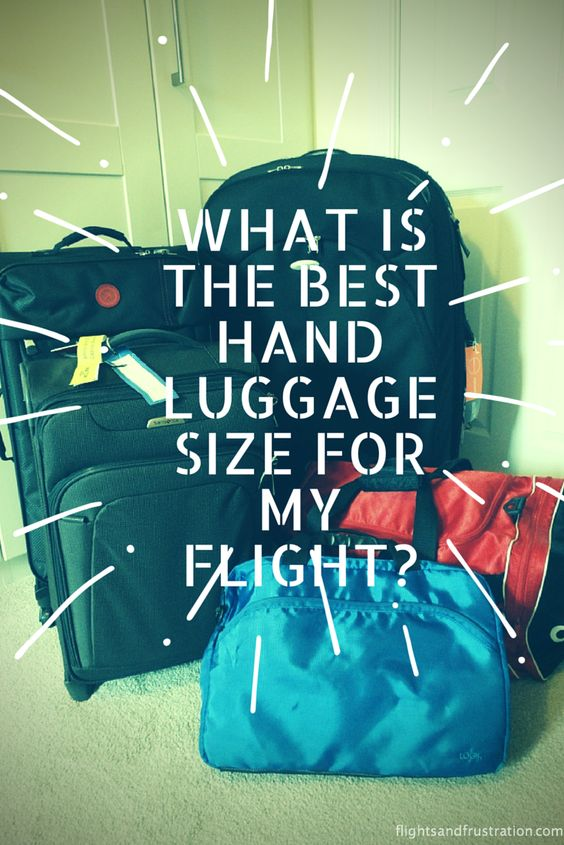 This tool will help you quickly find out the hand luggage allowance for your next flight :- http://flightsandfrustration.com/what-is-the-best-hand-carry-luggage-size-for-my-flight/  Find out the correct size dimensions, capacity, weight by airline. #flight #travel #luggage