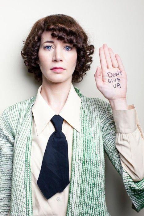 Miranda July, author and filmmaker.  http://www.cultivatingculture.com