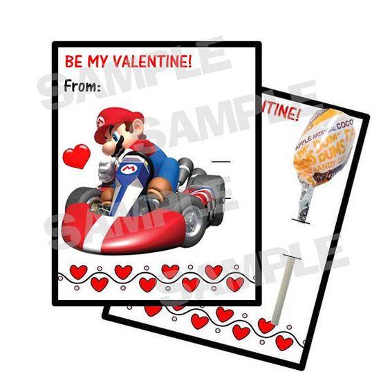 Ideas Valentine cards and Link – Super Mario Bros Valentine Cards