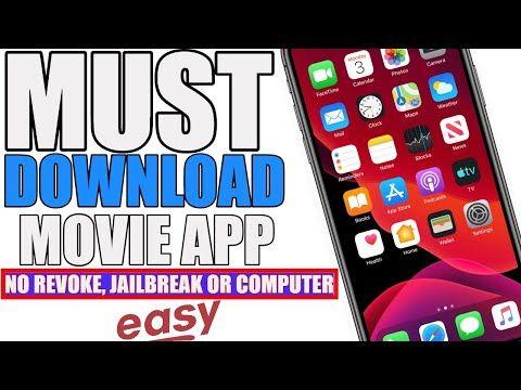 No Revoke Install Zinitevi Ios 3 5 1 12 Best Mediabox Moviebox Popcorn Time Alternative No Jb Youtube In 2020 Movie App Free Movies App