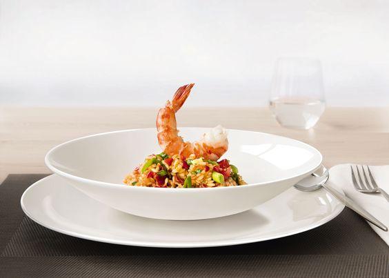 gastronection » Artikel » Tomatenrisotto mit Carabinieros