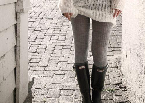 rainboots ~: Sweater Tight, Rainboot, Rainy Day, Rainyday, Winter Outfit