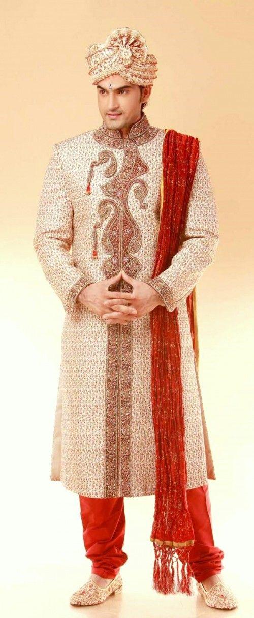 Sherwani Traditional Indian Wedding Dresses For Men