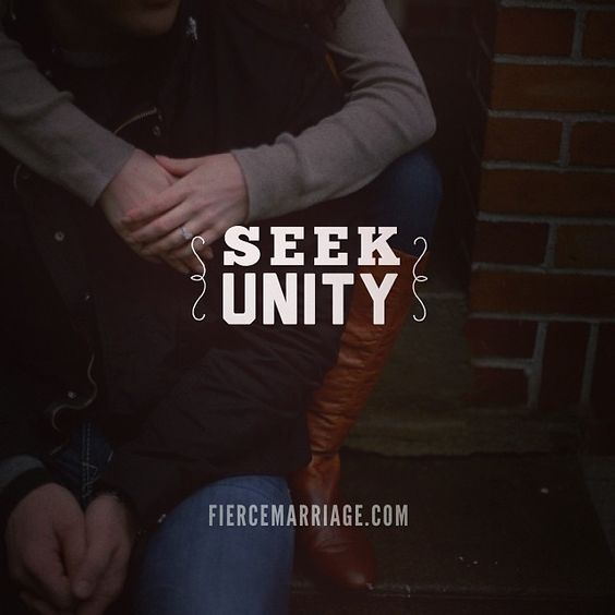 Seek unity. Remember that you have an enemy, and it's not each other. Gaurd your heart. When you are tempted RUN to God and your spouse. Be open, honest and transparent...secrets create footholds for the devil.