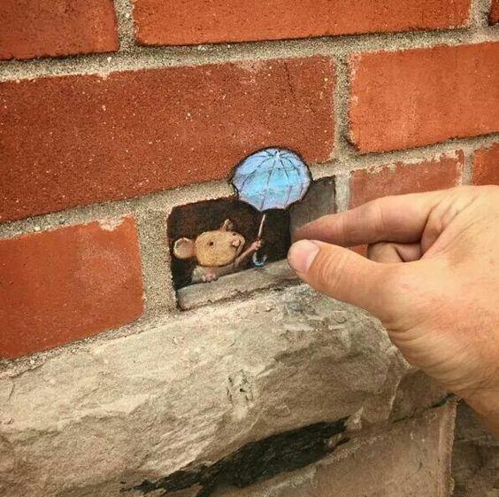 Amazing 3D street art by David Zinn.:
