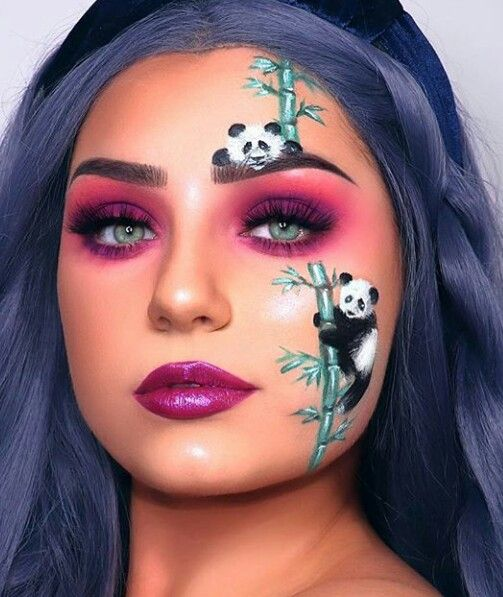 Pin By Paige Pillsbury On Colorful Makeup Creative Makeup Looks