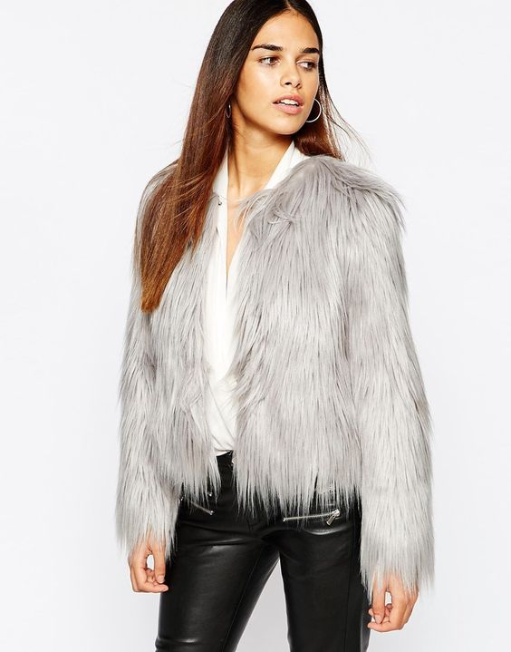Warehouse Faux Fur Coat | Preeeeetty things | Pinterest | Coats