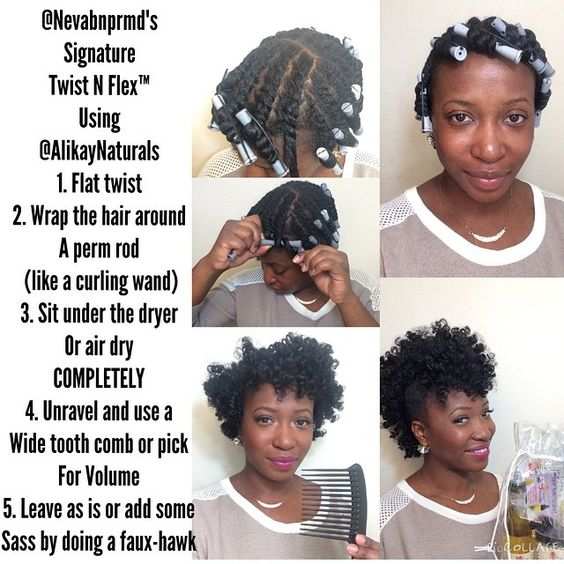 """""""How-to-Tuesday! @nevabnprmd shows how to achieve this style using @AlikayNaturals Lemongrass Leave-in Conditioner, Creme Brûlée Curling Custard, and…"""""""