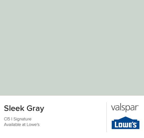 Sleek Gray From Valspar