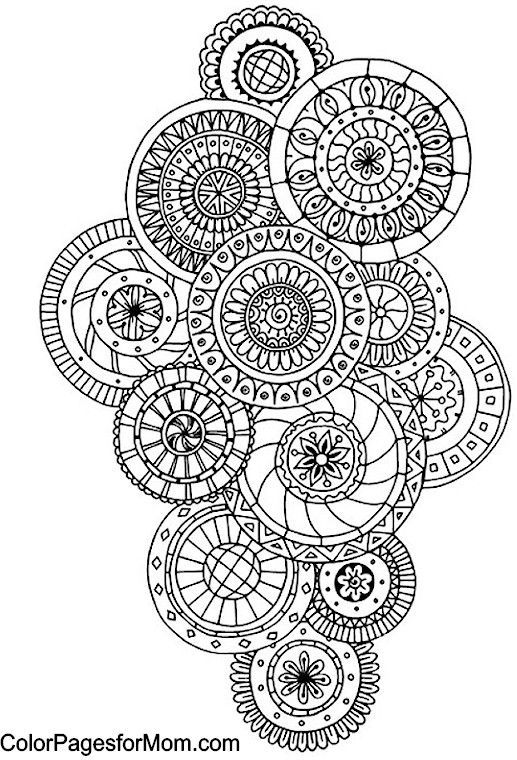 Free Coloring Pages Printables Paisley Coloring Pages Printable Adult Coloring Pages Mandala Coloring Pages