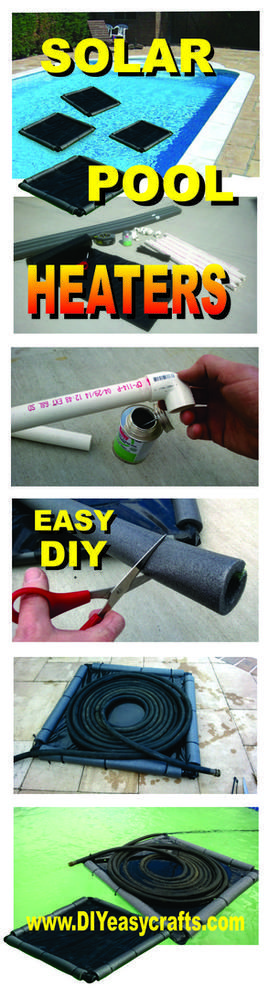 how to make this easy diy solar pool heater. simple design that, Hause ideen