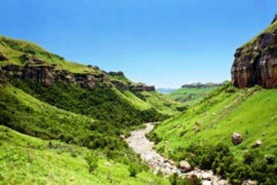 Oliviershoek Pass scenery