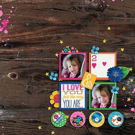 Layout using {Trial and Error} Digital Scrapbook Templates by Little Bit Shoppe Designs http://www.thedigichick.com/shop/Trial-And-Error-Bundle.html