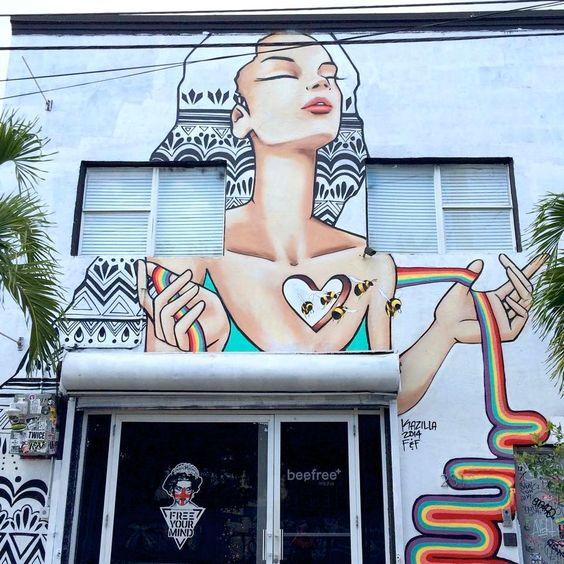 Street Art By Kazilla - Miami (FL)
