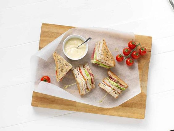 Hühnchen-Sandwich - glutenfrei