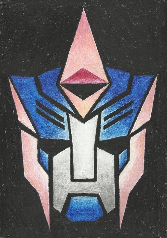 Transformers Optimus Prime Face Canvas Paintings