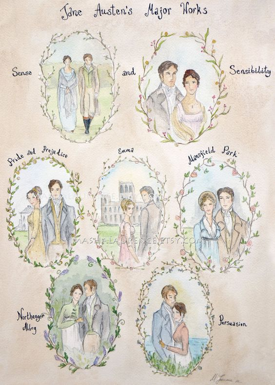 An analysis of the work of jane austen
