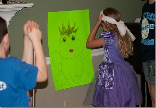 pin the kiss on the frog!