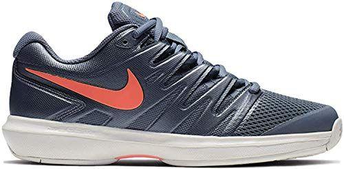 New Nike Women S Air Zoom Prestige Tennis Shoes 6 5 B Us Metallic Blue Dusk Bright Mango Phantom Womens Fashion Shoes 100 Chicideas Fashion Is A Popular