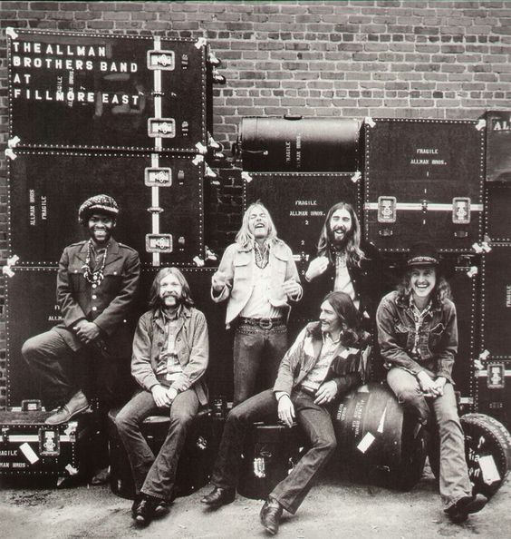 The Allman Brothers Band.. just something else, the kings of southern rock